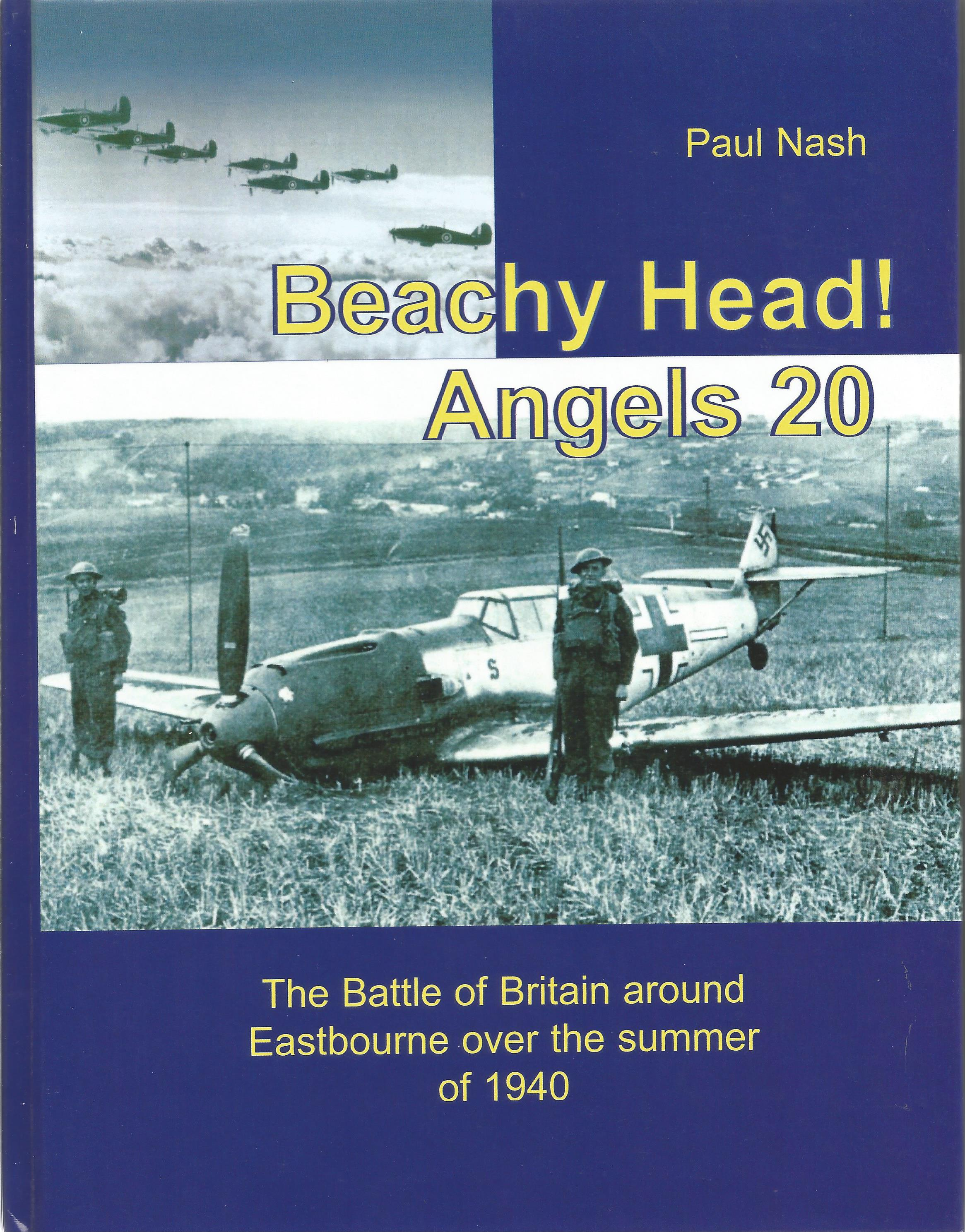 Paul Nash. Beachy Head! Angels 20 the Battle Of Britain around Eastbourne over the summer of 1940. a
