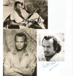 Harry Belafonte signed collection. American singer, songwriter, activist, and actor. One of the most