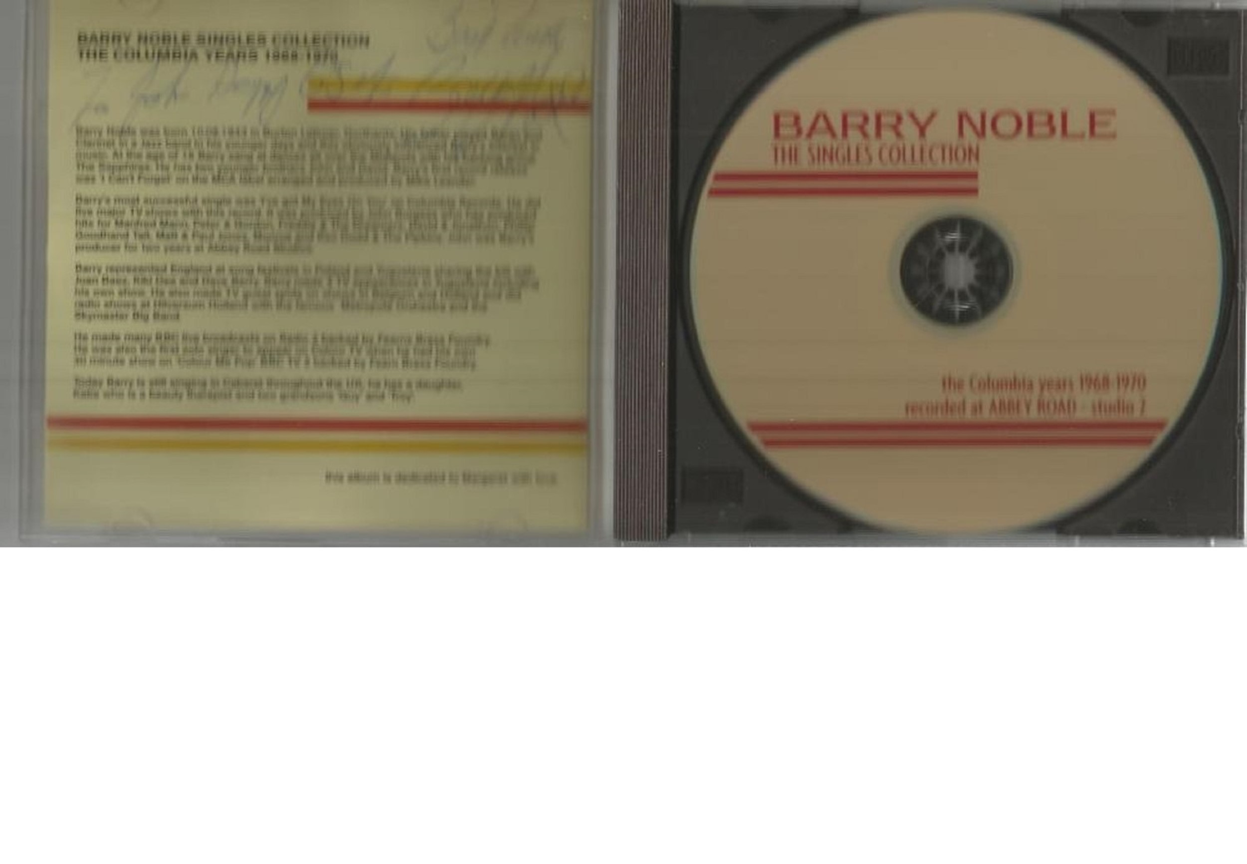6 Signed CDs Including Michael Graham Inspirations Disc Included, Hazel O'Connor The Bluja Project - Image 3 of 5