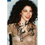 Gloria Estefan signed 6x4 colour photo. Good condition. All autographs come with a Certificate of