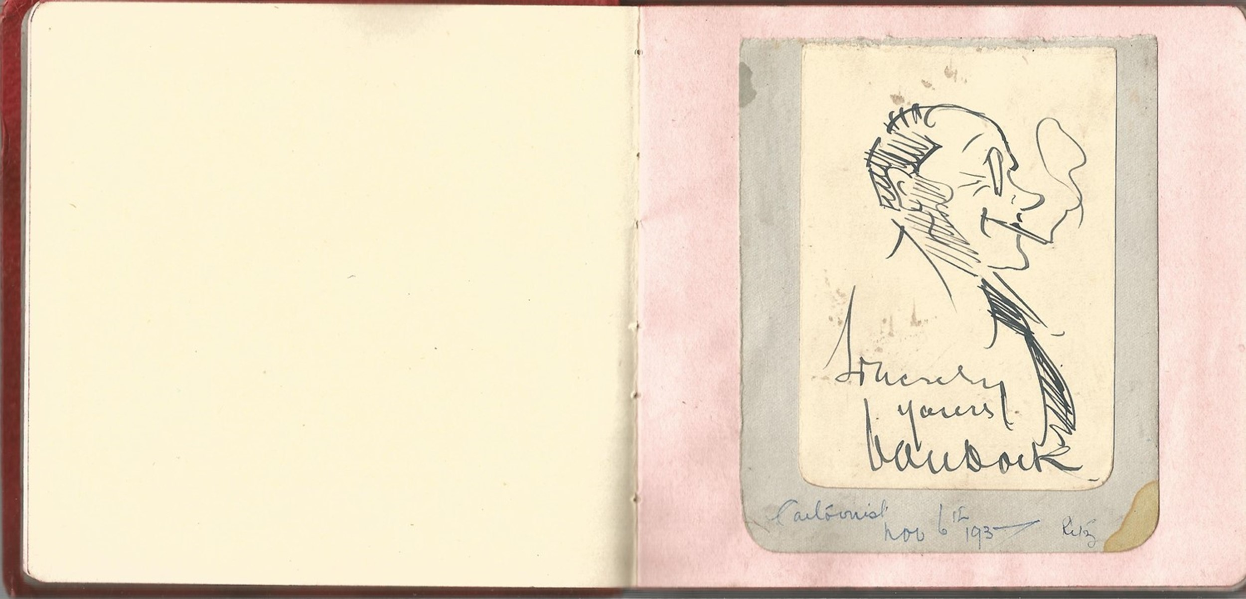 Autograph book. 12 signatures all on individual pages. Amongst signatures are Billy Cotton, Irene - Image 2 of 2