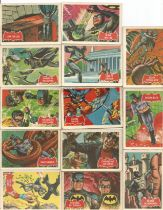 Batman collectors cards 50 cards from National Periodical Publications Inc 1966 and 20th Century Fox