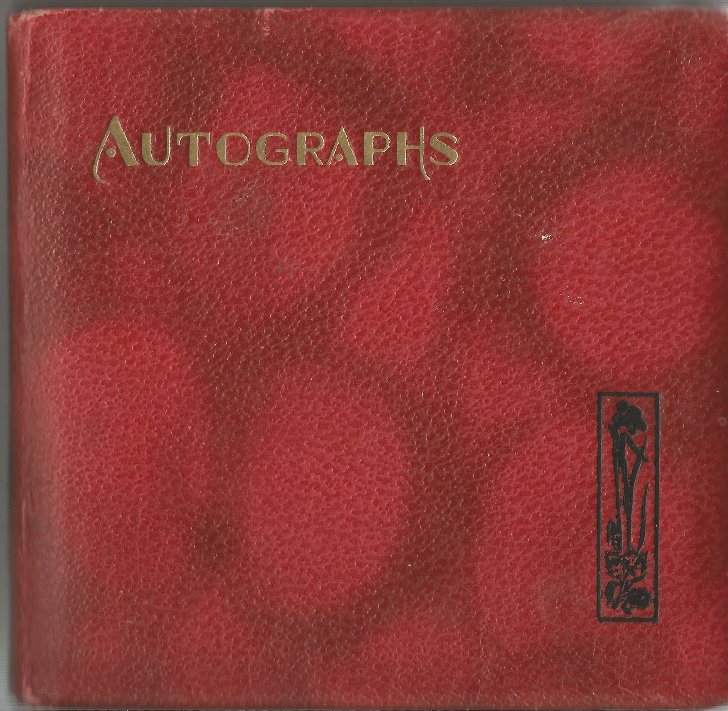 Autograph book. 12 signatures all on individual pages. Amongst signatures are Billy Cotton, Irene