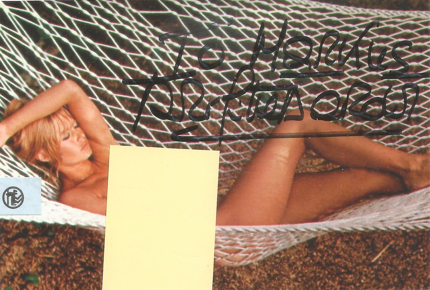 Brigitte Bardot signed 6x4 colour naked photo. Good condition. All autographs come with a