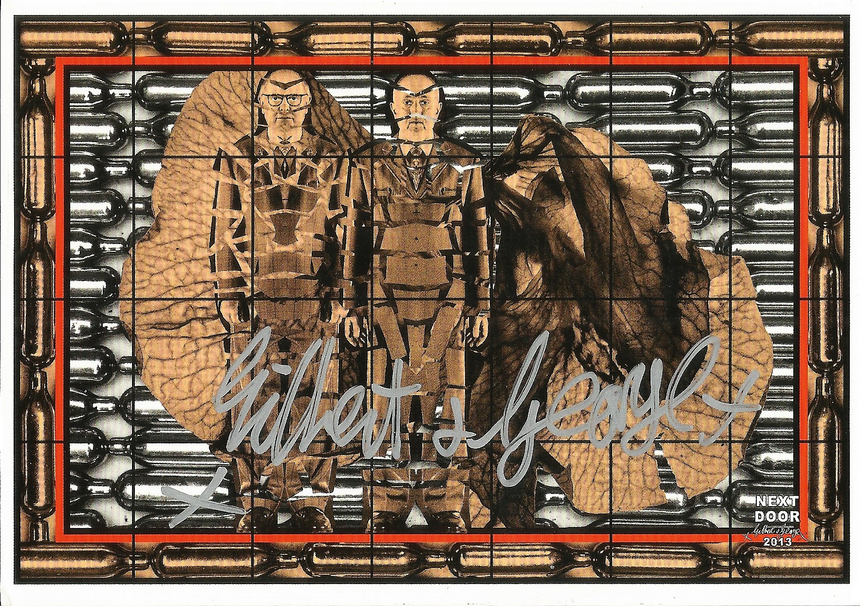 Gilbert and George signed postcard collection. 6 included. Good condition. All autographs come - Image 2 of 4