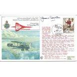 Jean Batten CBE signed 60th Anniversary of the First Flight from England to Australia 12 November 10