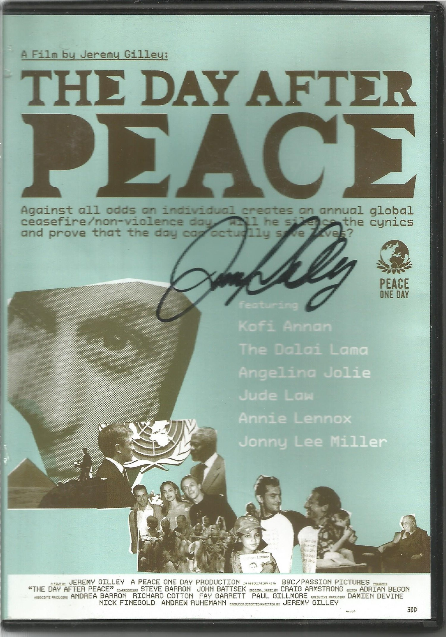 3 Signed and 2 Unsigned DVDs, Jimmy Buckley The Grand Tour, The Day After Peace, Dr Phil Hammonds - Image 2 of 2