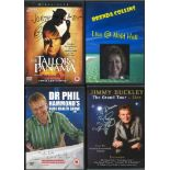 3 Signed and 2 Unsigned DVDs, Jimmy Buckley The Grand Tour, The Day After Peace, Dr Phil Hammonds