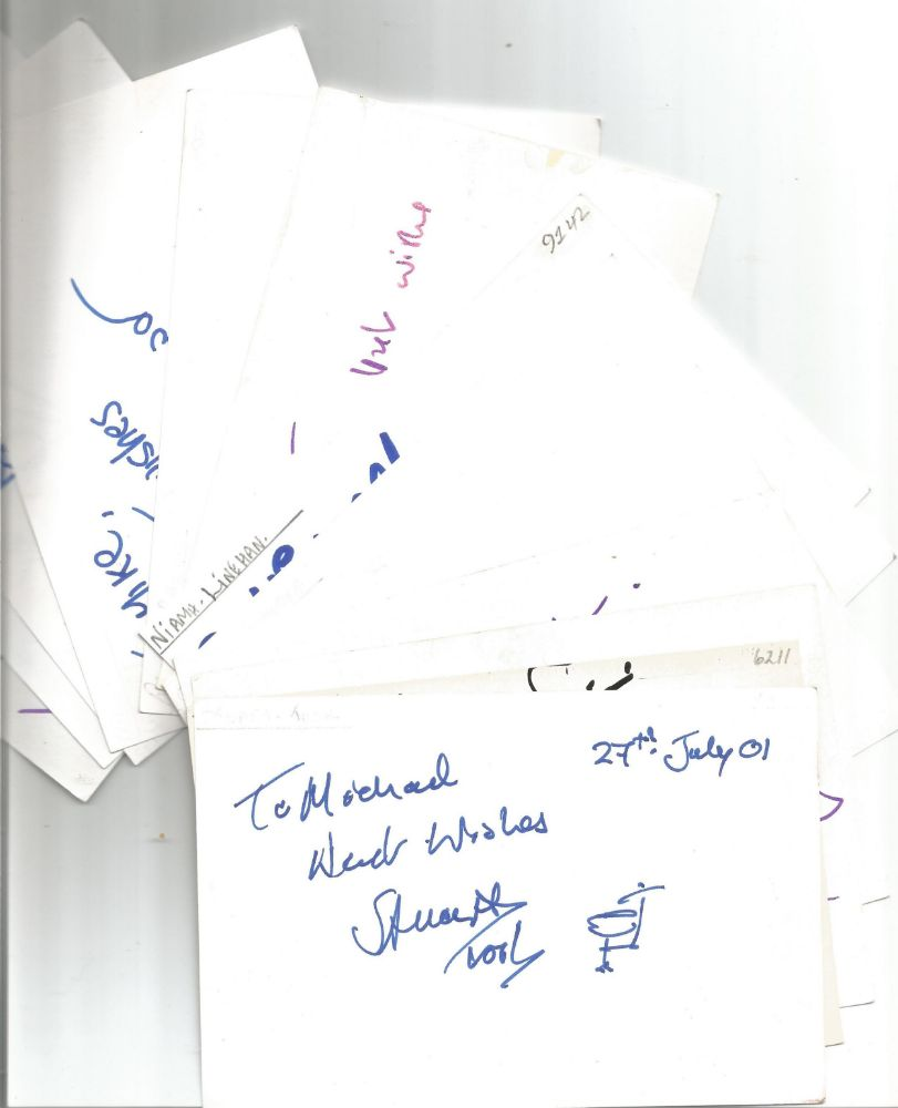 Autograph Auction Collections TV Film Military Music Sport Covers Photos Books FDCs