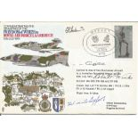 WW2 US fighter ace Robert P. Winks, Flt lt M. Caygill plus two other signed Commemorating the