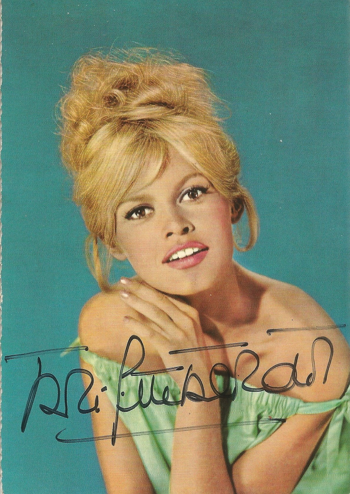 Brigitte Bardot signed 6x4 colour photo. Good condition. All autographs come with a Certificate of