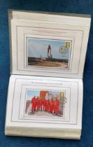 76 Space Exploration FDC with Stamps and FDI Postmarks, Housed in a Binder with Stunning NASA