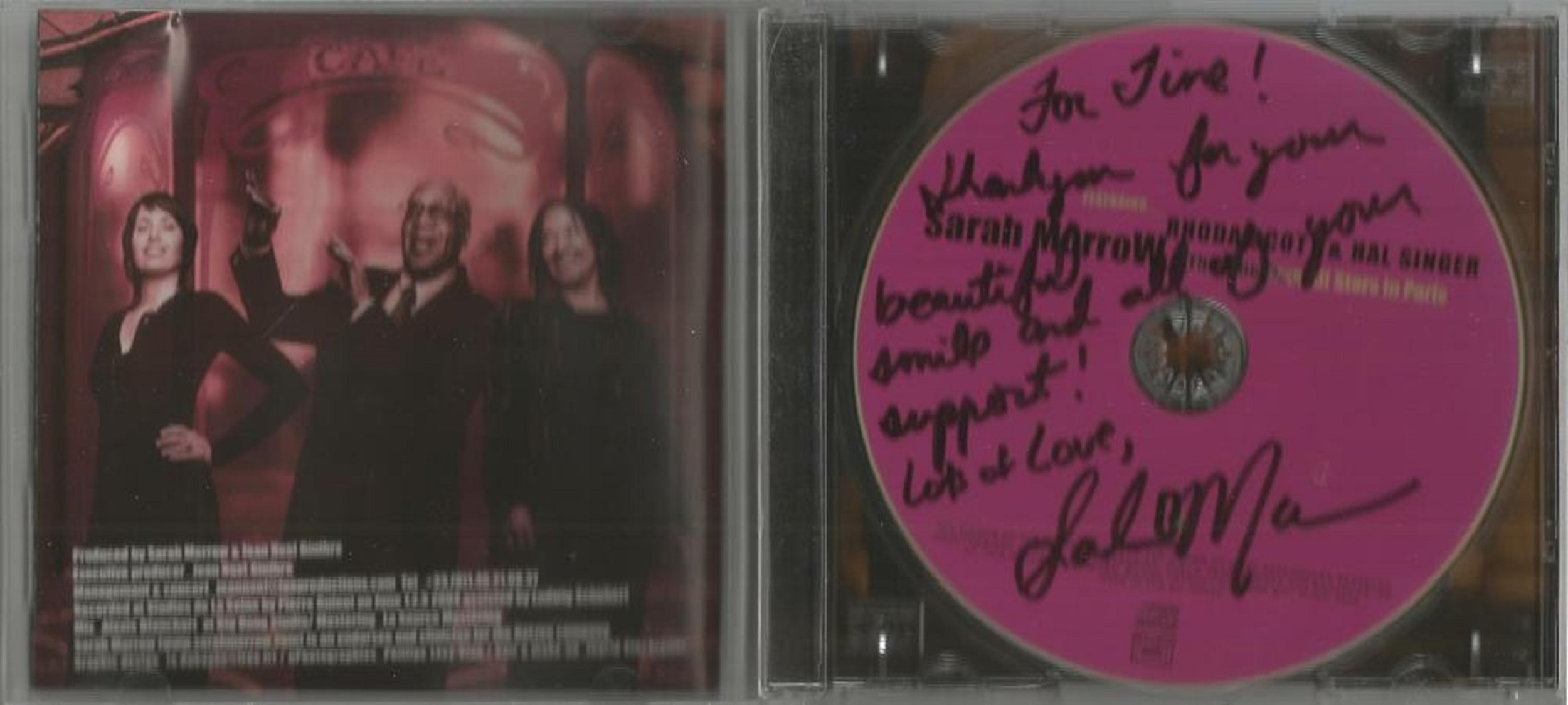 6 Signed CDs Including Andrea Ross Moon River Disc Included, Foley and Hepburn Con Te Partiro Disc - Image 2 of 6