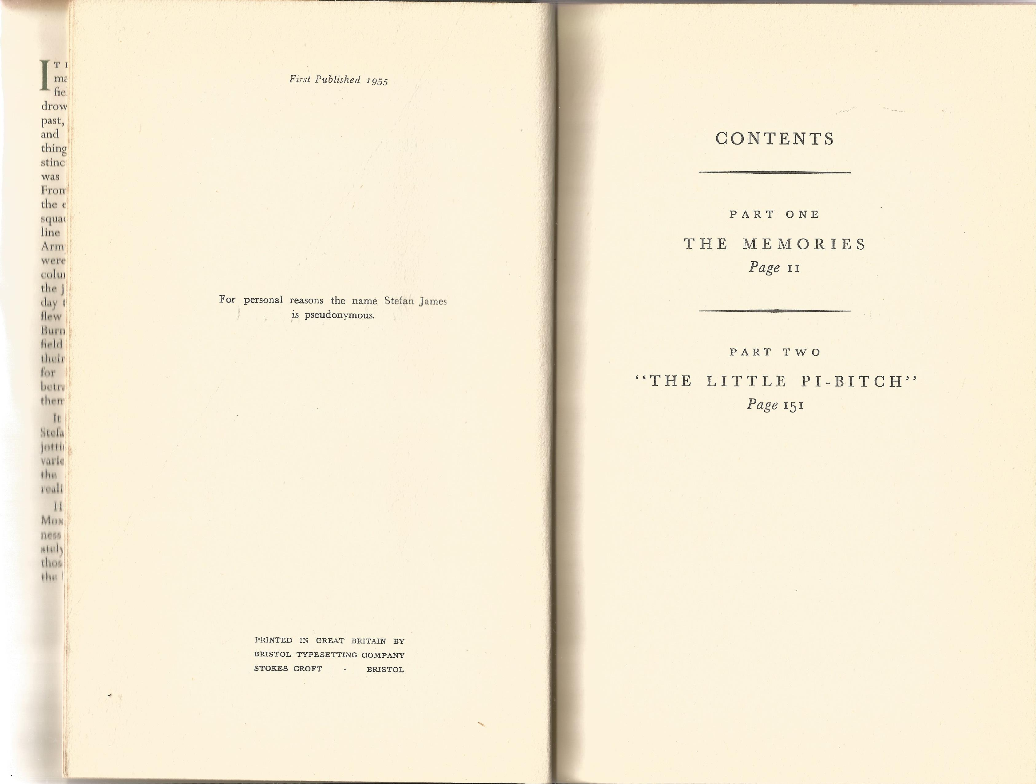 Oliver Moxon. Bitter Monsoon The Memoirs of a Fighter Pilot. A WW2 First Edition, Multi Signed - Image 3 of 3