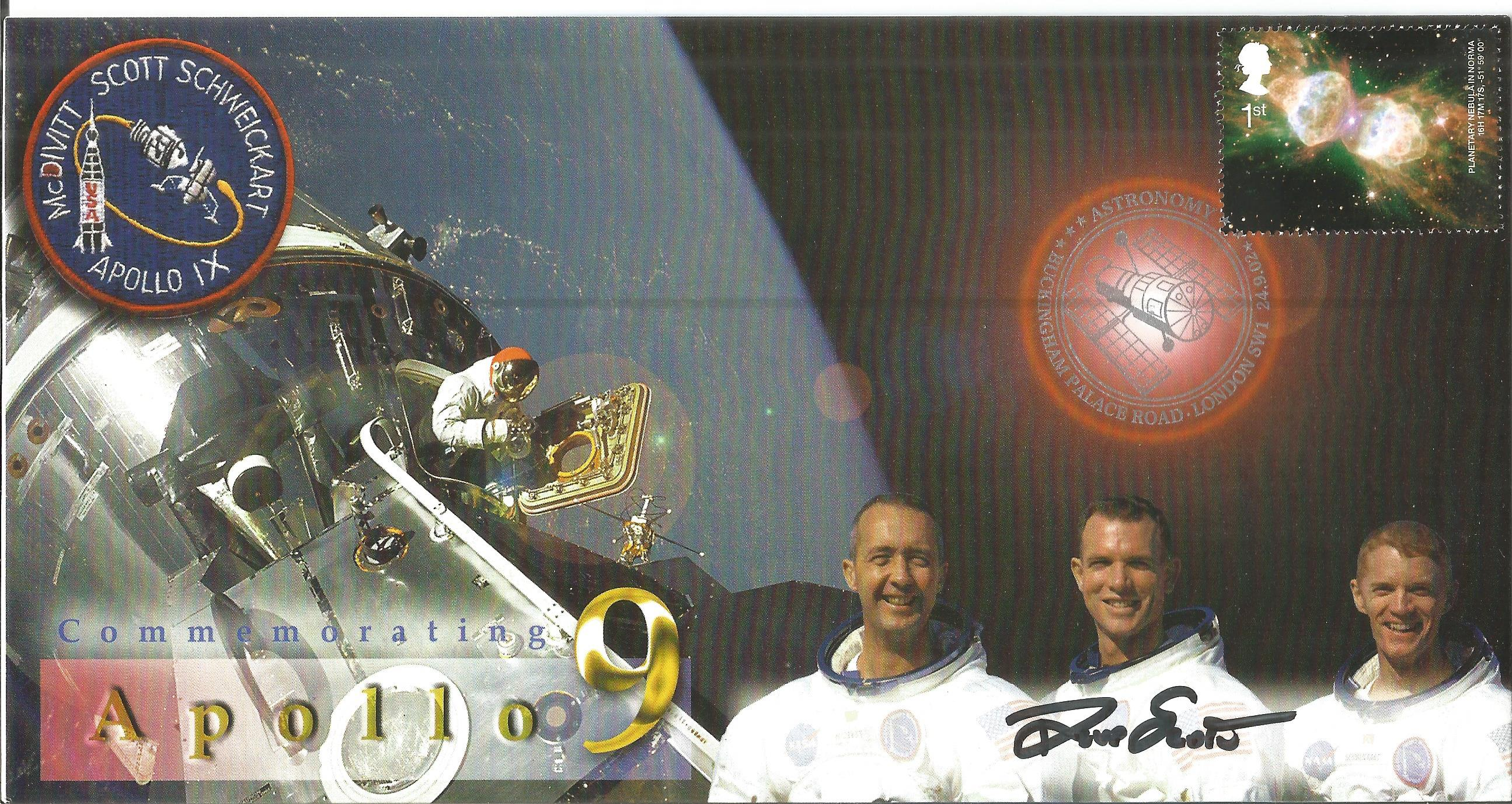 Space Moonwalker Dave Scott NASA Astronaut signed 2001 Apollo 15 Limited Edition cover. Good