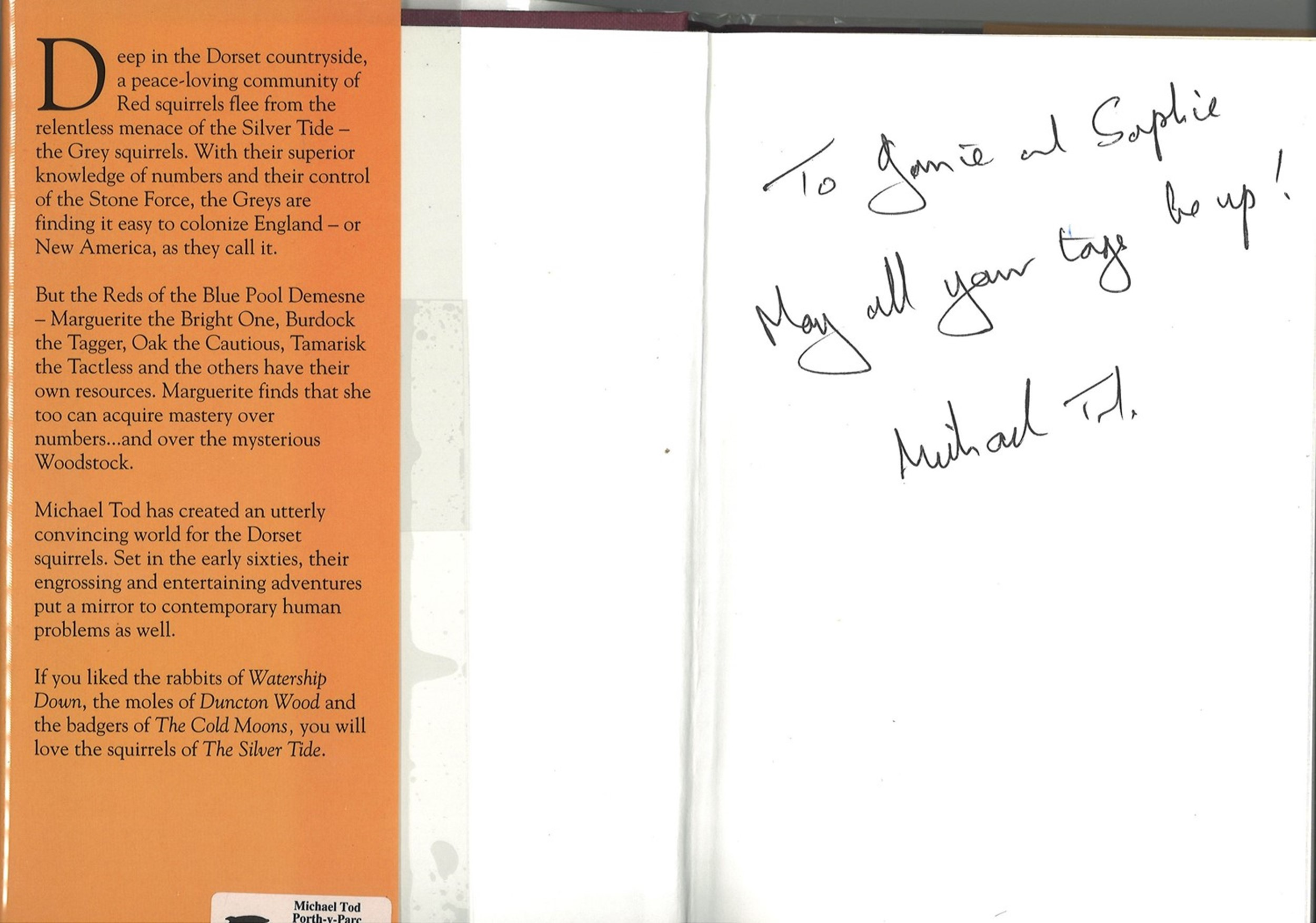 5 Signed Books 3 Paperback and 2 Hardback Books, Three Hours, Silver Tide, Light Weaver, Muddy - Image 4 of 5