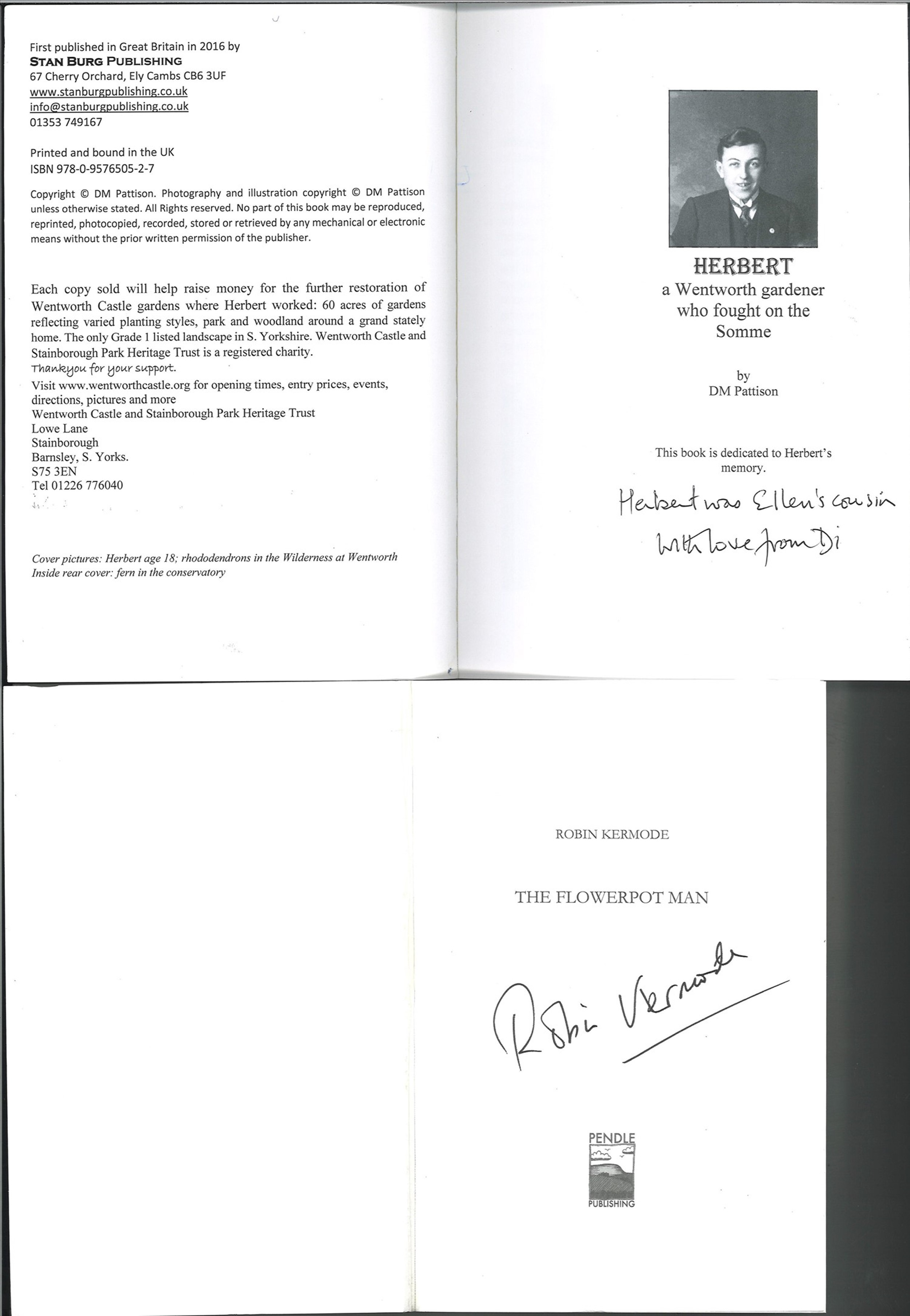 5 Agricultural Books, 4 Signed and 1 Unsigned Hard and Paperback Books, Includes Unsigned - Image 3 of 3