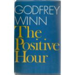 Godfrey Winn. The Positive Hour. WW2 First Edition hardback book, in fair condition. Signed by the