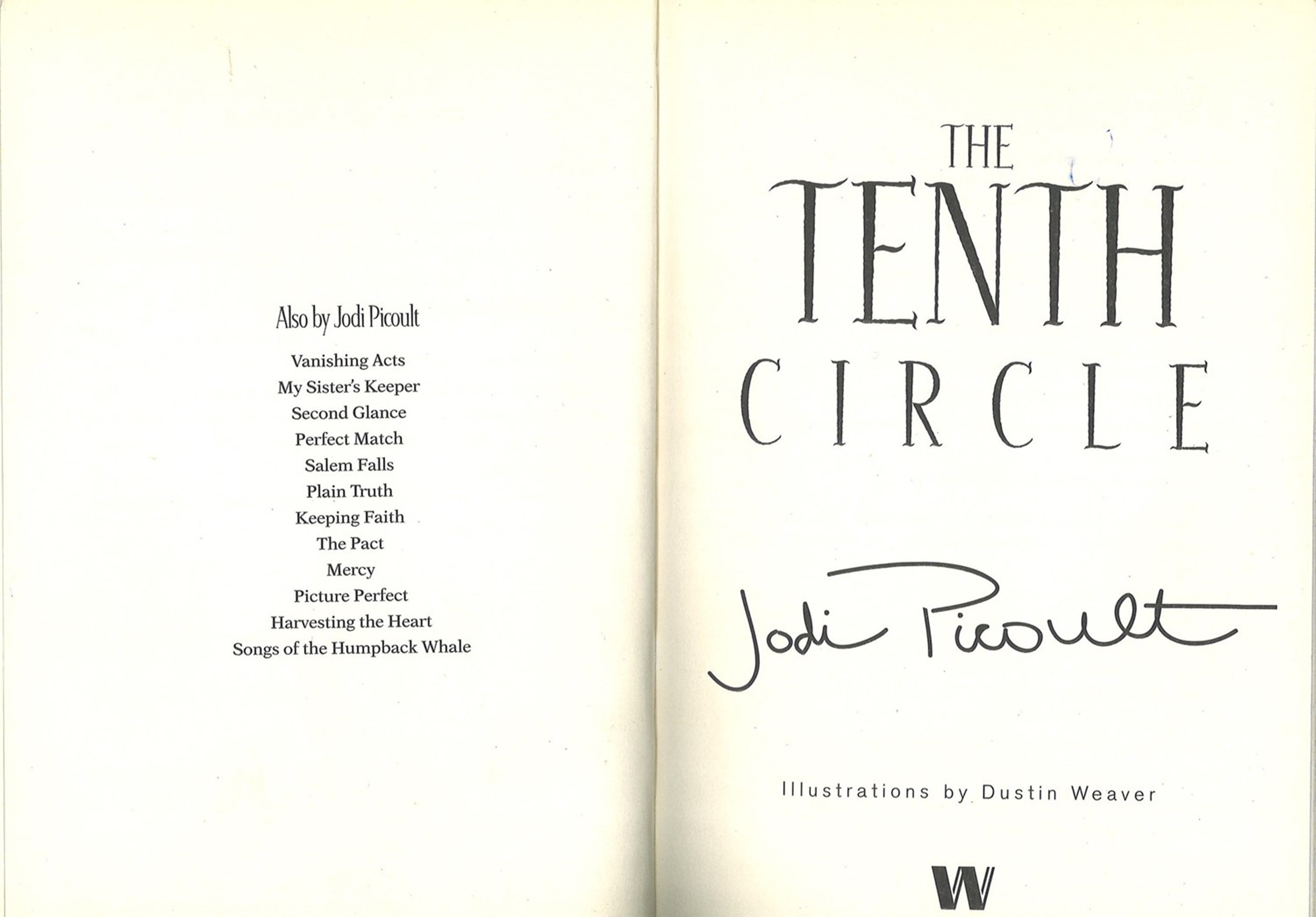 5 Signed Paperback Books, The Hunters Handbook, The Tenth Circle, Monkey Joe, The Sirens of - Image 6 of 6