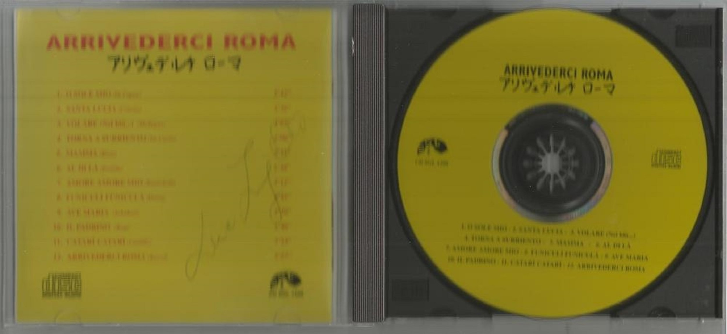 6 Signed CDs Including Andrea Ross Moon River Disc Included, Foley and Hepburn Con Te Partiro Disc - Image 3 of 6