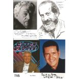 TV signed collection. 4 items, mainly 6x4 photos. Individually signed by Dale Winton, Roy Walker,