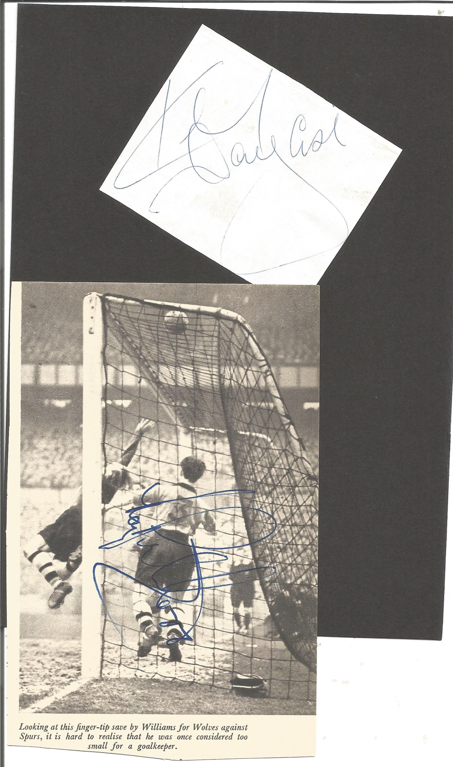 Football Collection Signed and Unsigned Magazine Cuttings and Signature Pieces, Including Andy - Image 8 of 8