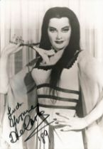 Yvonne de Carlo signed 7x5 black and white photo. September 1, 1922 - January 8, 2007, was a
