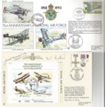 Collection of 5 Flown FDC, 4 Signed One of which Multi Signed JS CC 10, Includes RFDC 85, JSF 12,