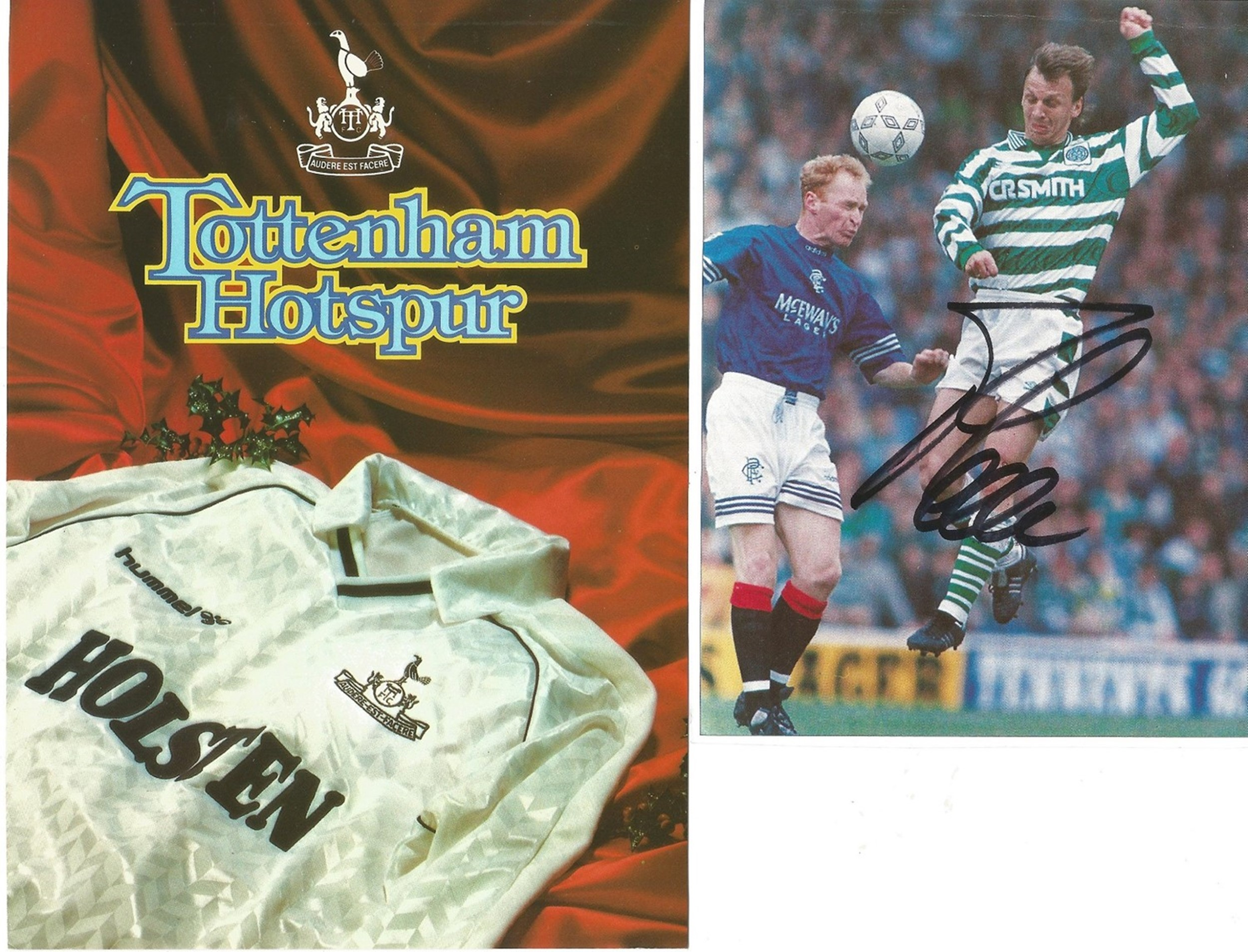 Football Collection Signed and Unsigned Magazine Cuttings and Signature Pieces, Including Andy - Image 7 of 8