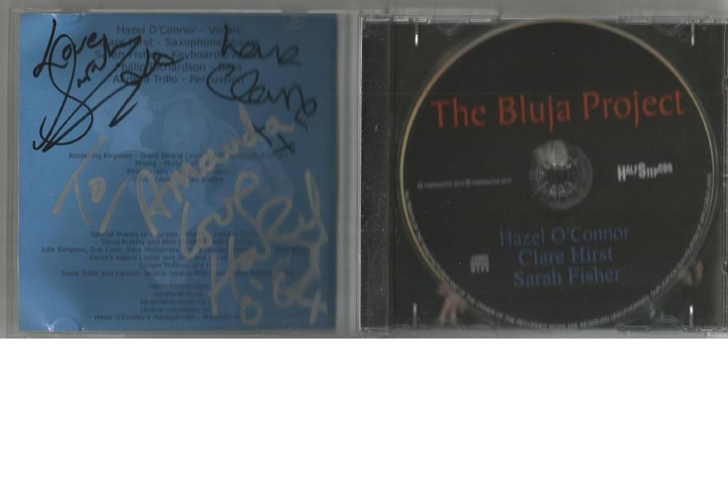 6 Signed CDs Including Michael Graham Inspirations Disc Included, Hazel O'Connor The Bluja Project - Image 4 of 5