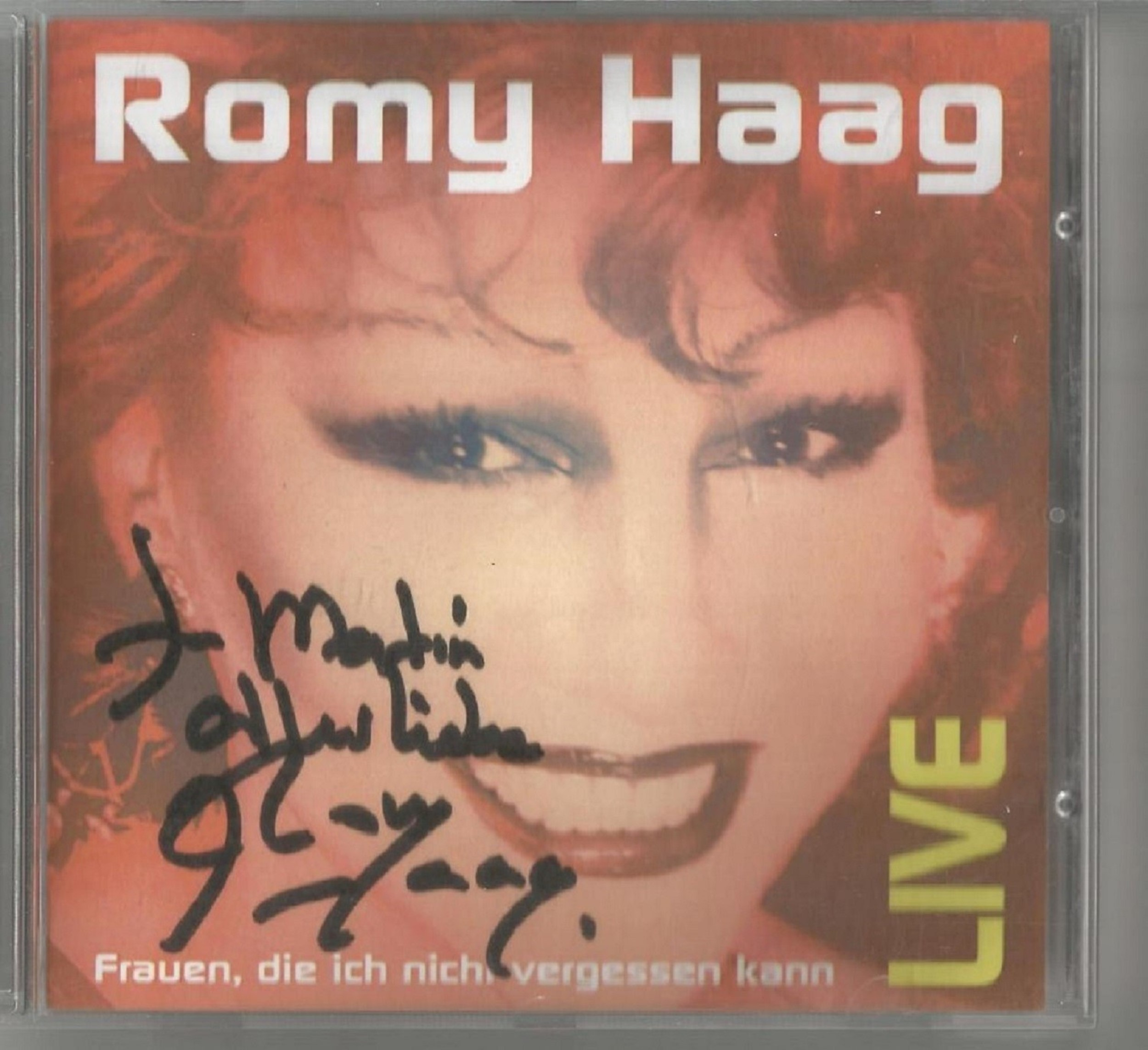 6 Signed CDs Including Michael Graham Inspirations Disc Included, Hazel O'Connor The Bluja Project - Image 5 of 5