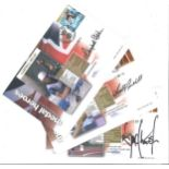 Medal Heroes 3 Signed Commemorative Covers Including Linford Christie OBE, Sally Gunnell OBE,