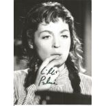 Lilly Palmer signed black and white photo collection. 2 included. Good condition. All autographs