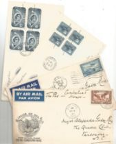 4 FDC and Commemorative Covers from Canada, Plus a selection of Stamped Correspondence. Good