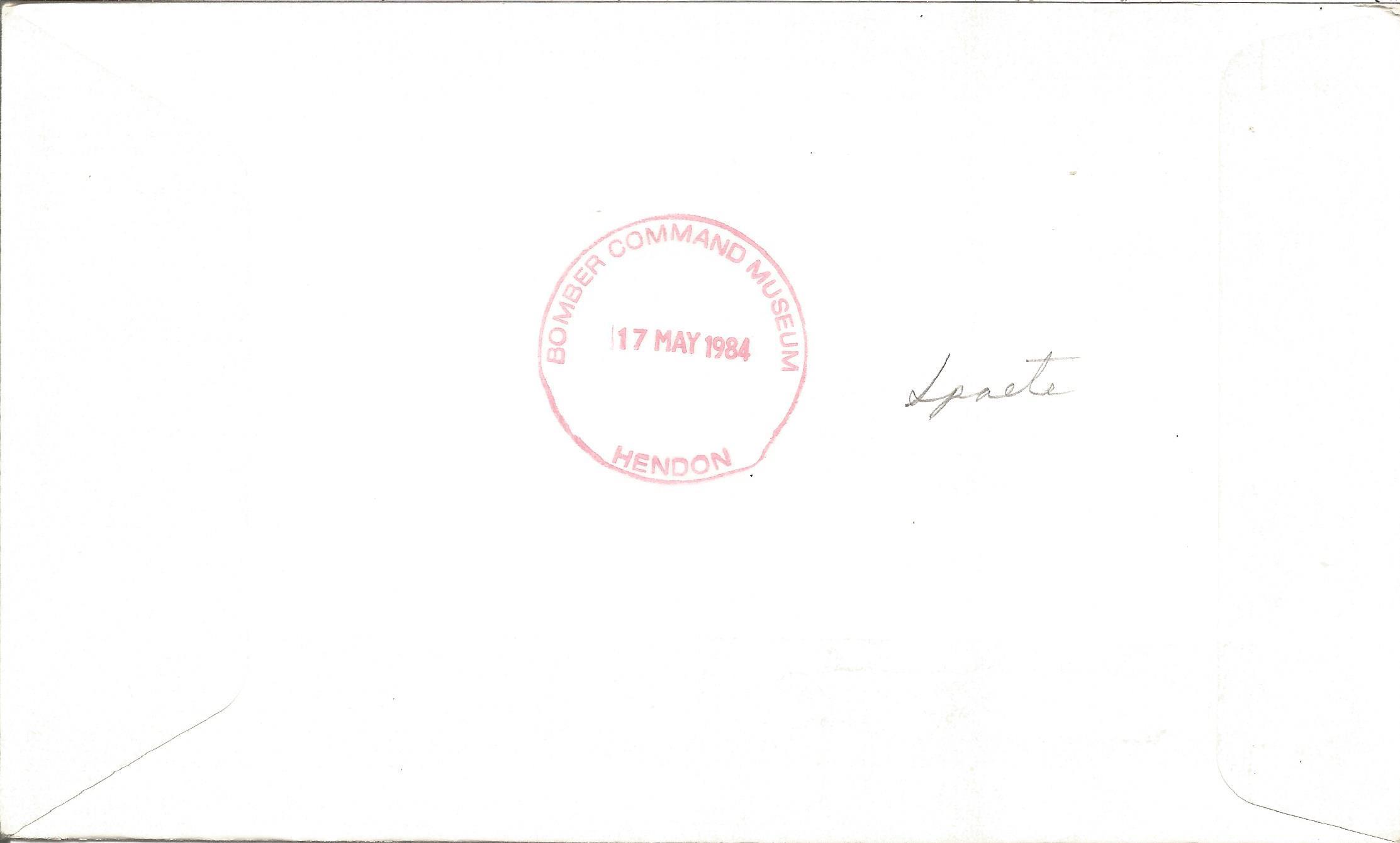 WW2 Luftwaffe aces multiple signed A. Scott Crossfield FDC. Five inc Gerd Achgelis, W Trenkle, W - Image 2 of 2
