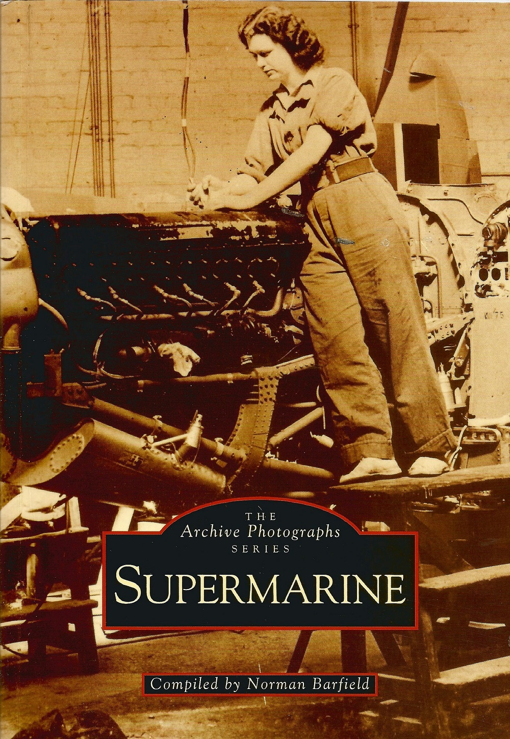 WW2. Norman Barfielf, SUPERMARINE Paperback Multi Signed book. First Edition. Good condition. All - Image 2 of 2