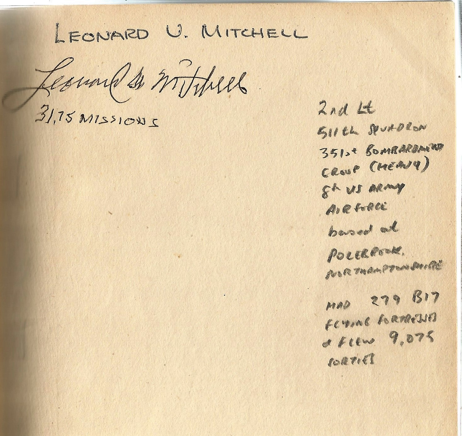 Flt Lt Hector Hawton. Night Bombing. A First Edition Signed Hardback book. Signed by Leonard V - Image 2 of 3