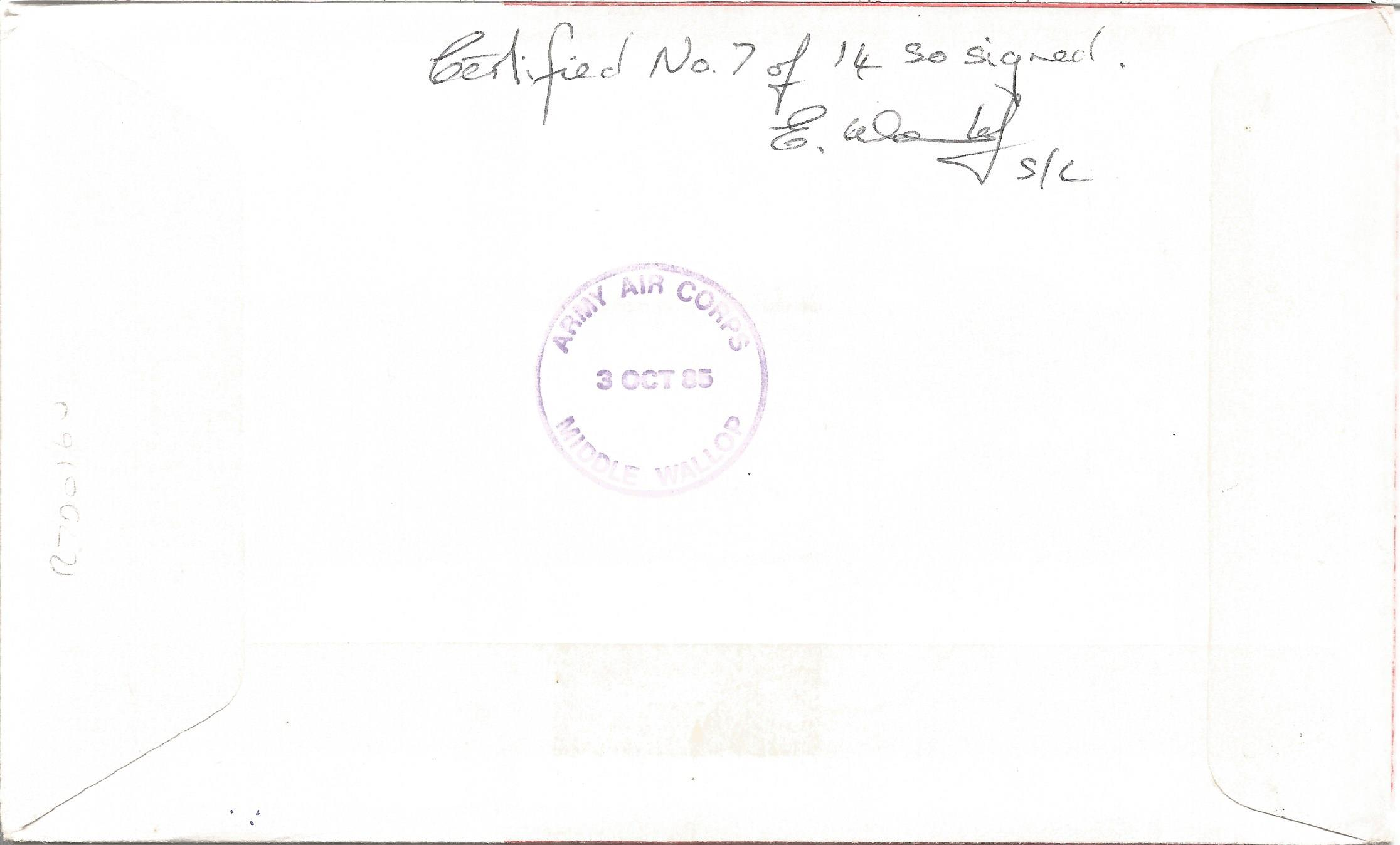 WW2 15 OBE winners multiple signed RAF medal cover. Includes Air Chief Marshal Sir H. Broadhurst, - Image 2 of 2