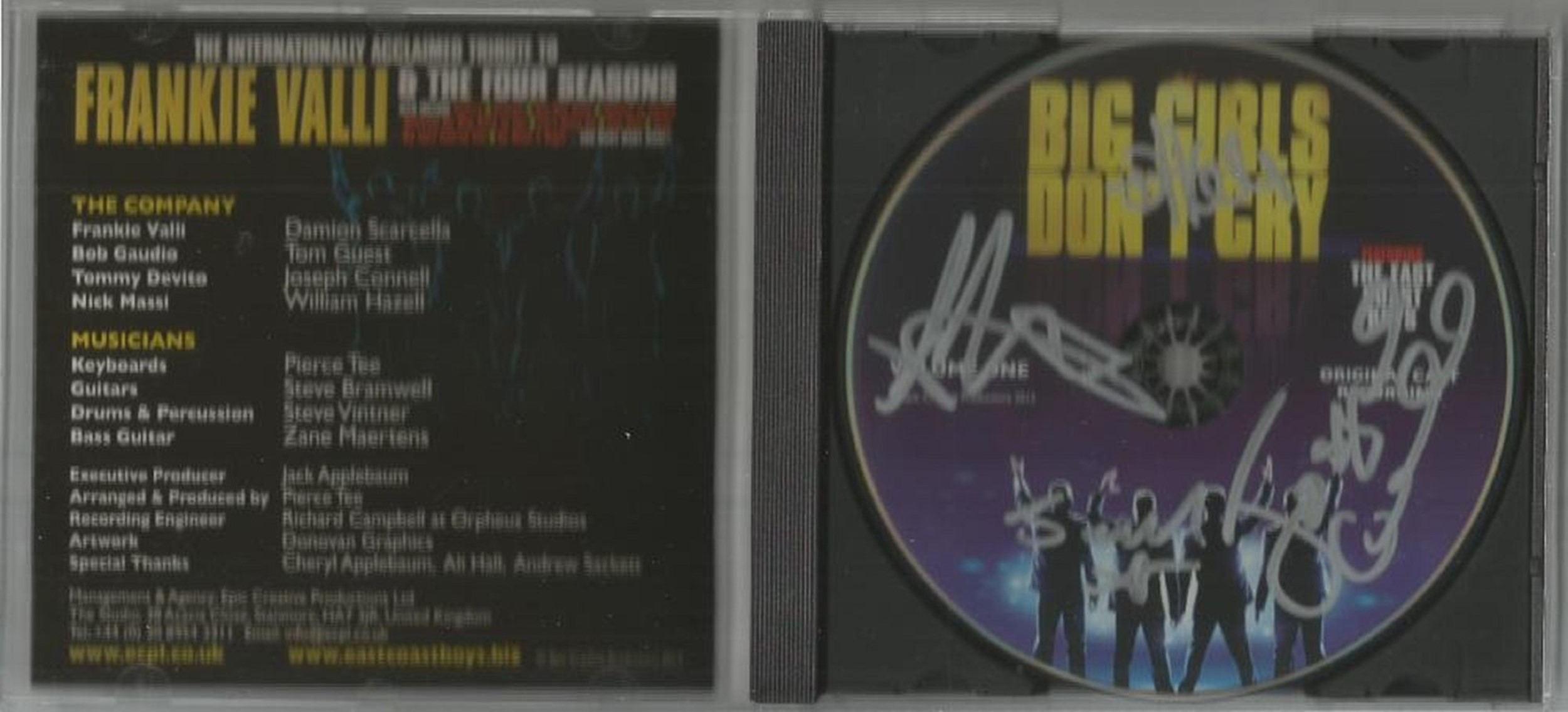 6 Signed CDs Including The East Coast Boys Big Girls Don't Cry Disc Included, Heidi Talbot The - Image 5 of 5