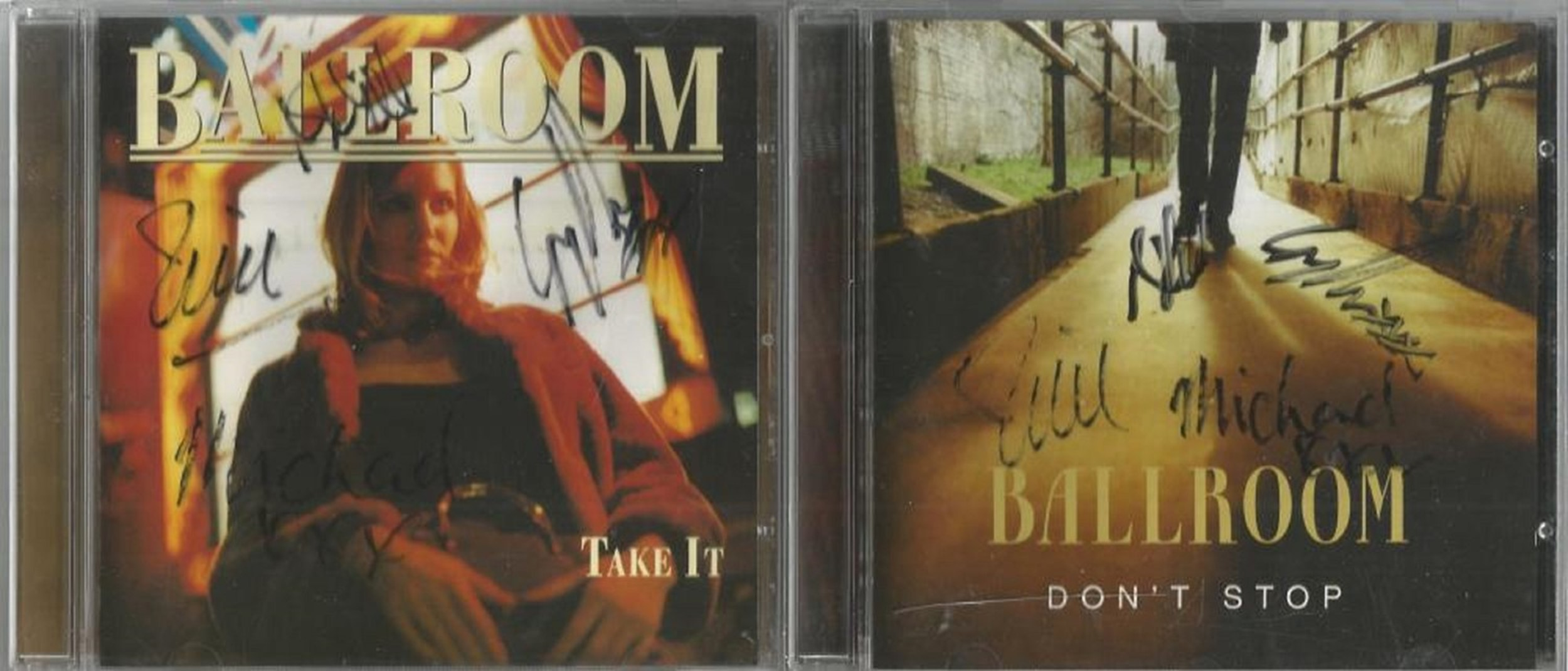 6 Signed CDs Including BBMak Still on your Side Disc Included, James Mitchell The Magic of the
