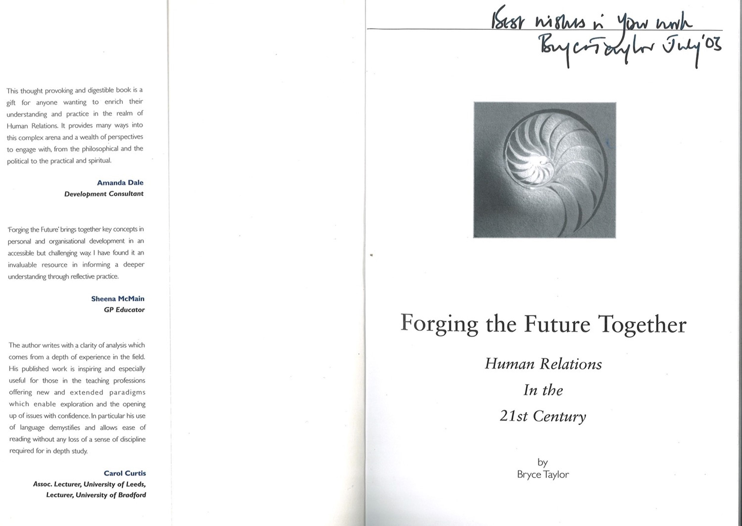 5 signed books. P A Davies signed Letterbox titled book. Sean Weafer signed business coaching - Image 3 of 5