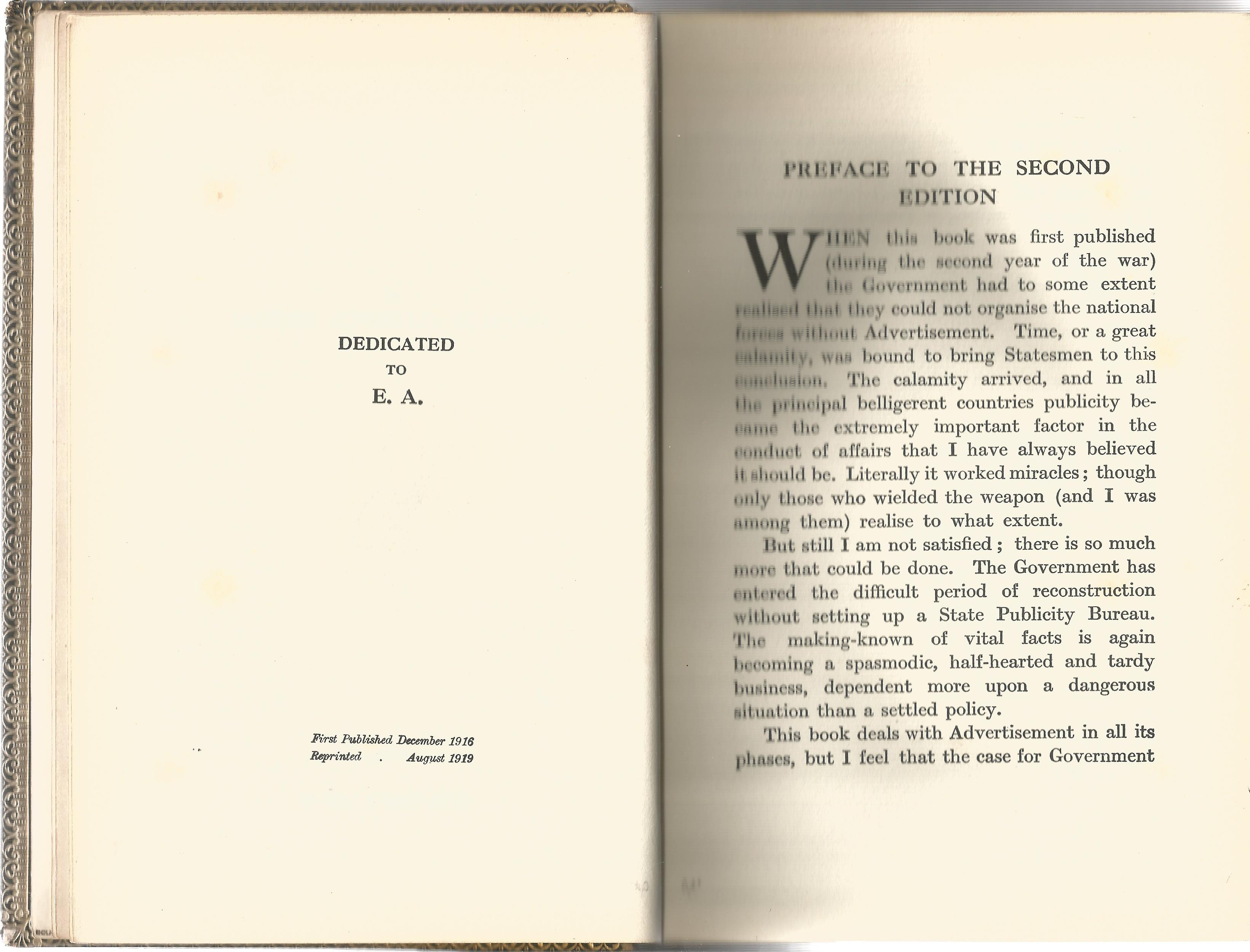 Charles Frederick Higham. Scientific Distribution. A Second Edition hardback book. Signed by Charles - Image 3 of 3