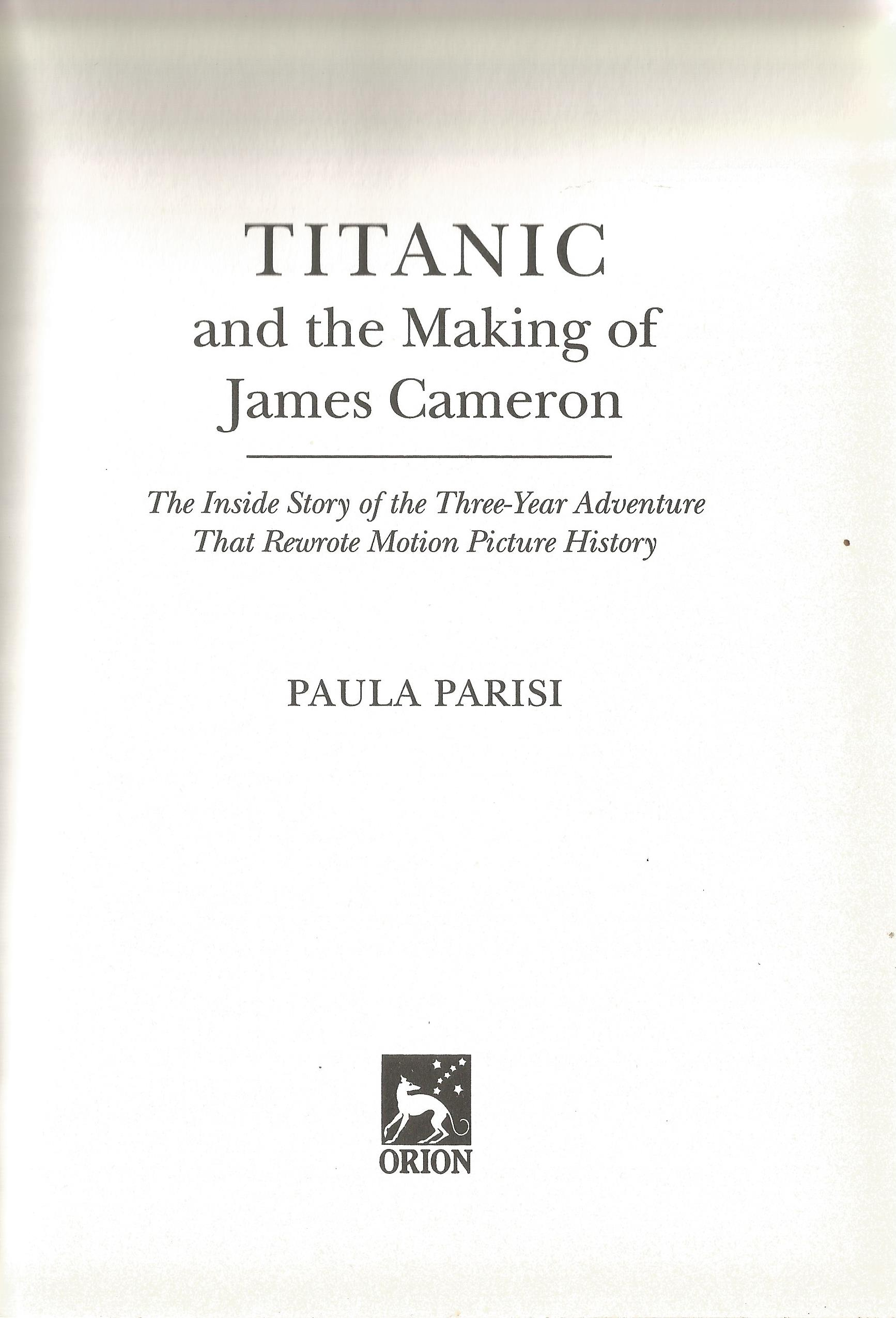 Making of the Titanic hardback book by Paula Parisi. We combine postage on multiple winning lots and - Image 2 of 2