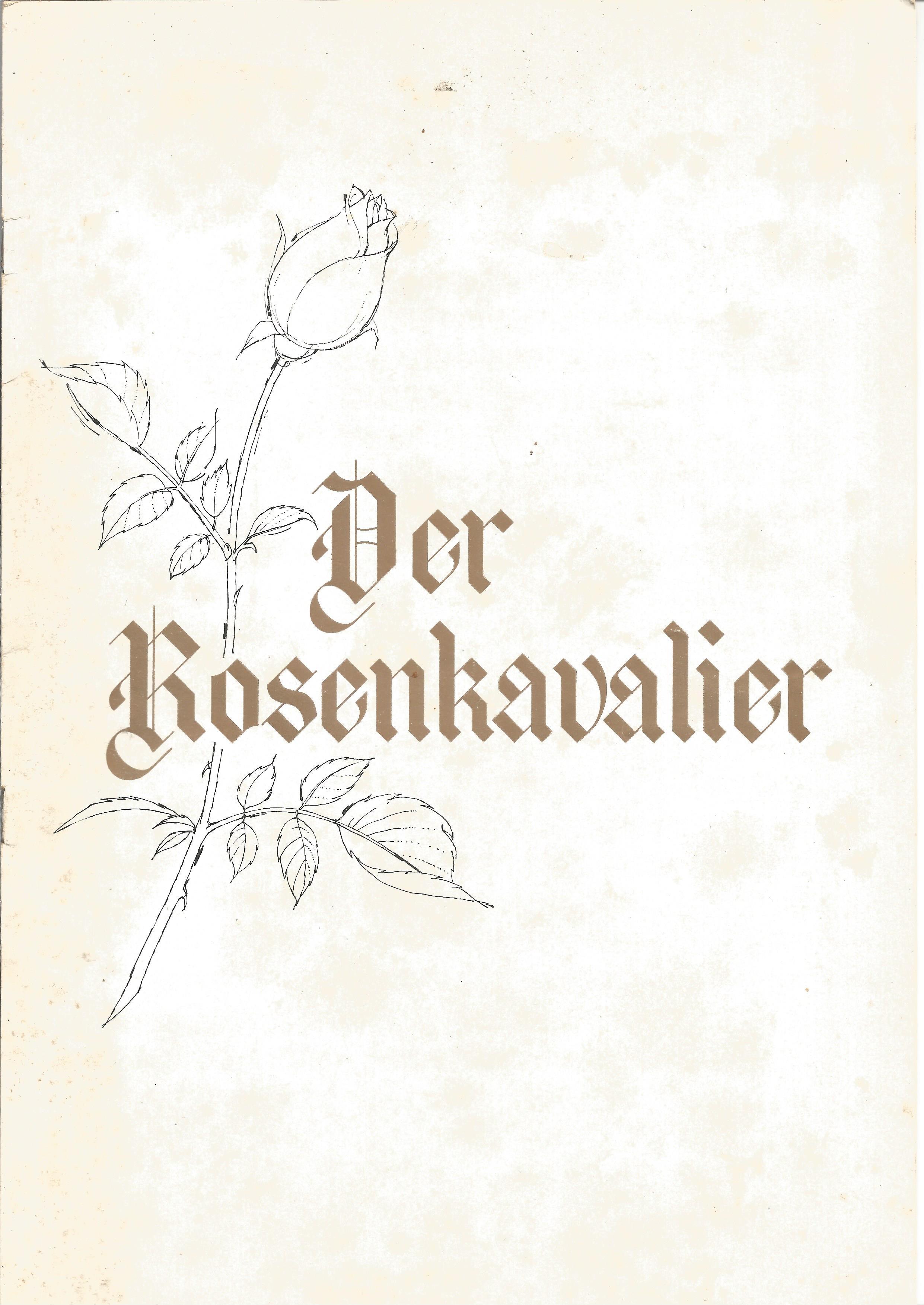 Opera in House Brochure A Dance Spectacular In Tribute to Dame Alicia Markova DBE 1990 Sadler's - Image 2 of 4