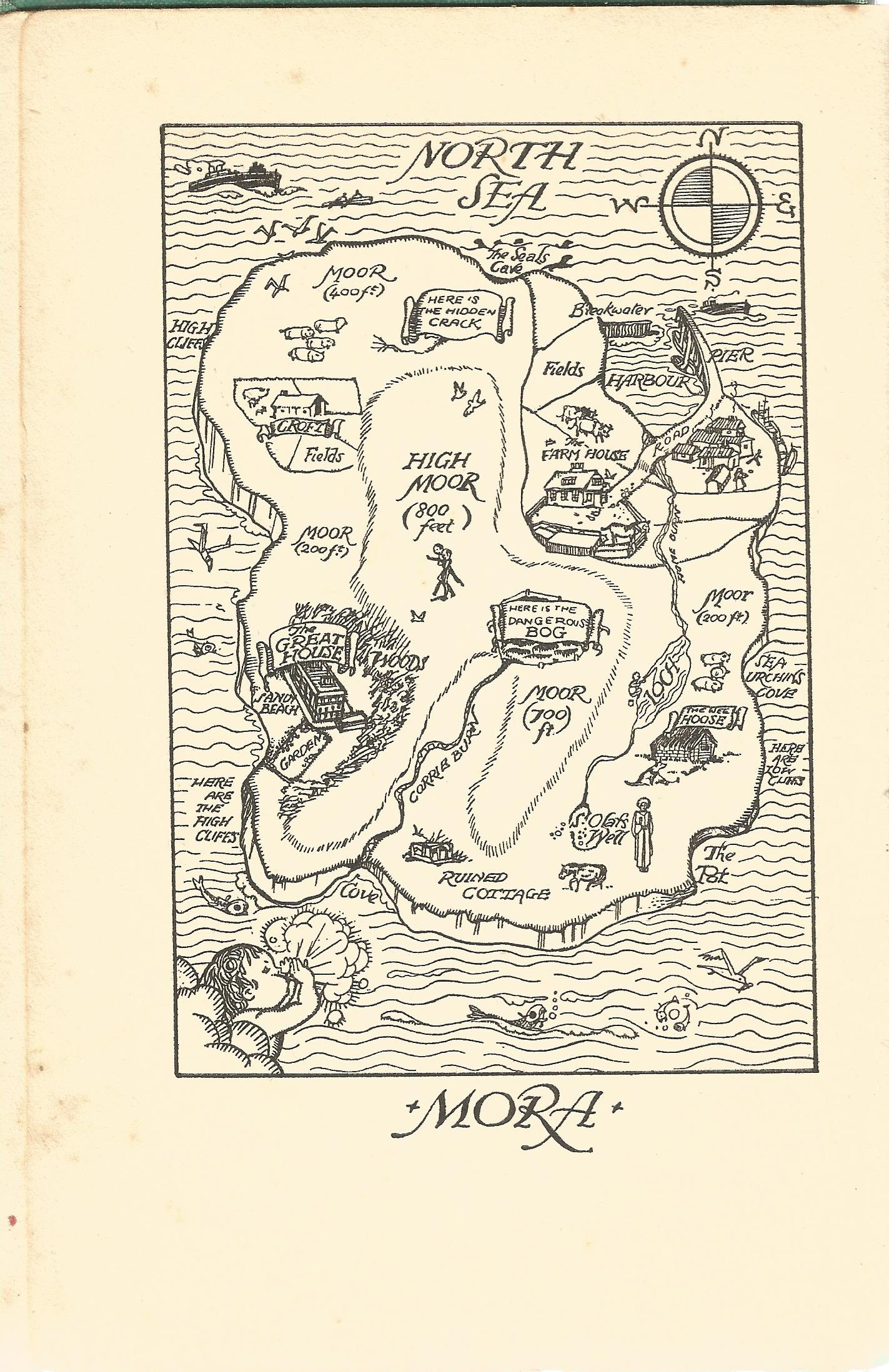 Hardback Book The Far Island A Story for Girls and Boys by M Pardoe Illustrated by R Turvey 1936 - Image 3 of 4