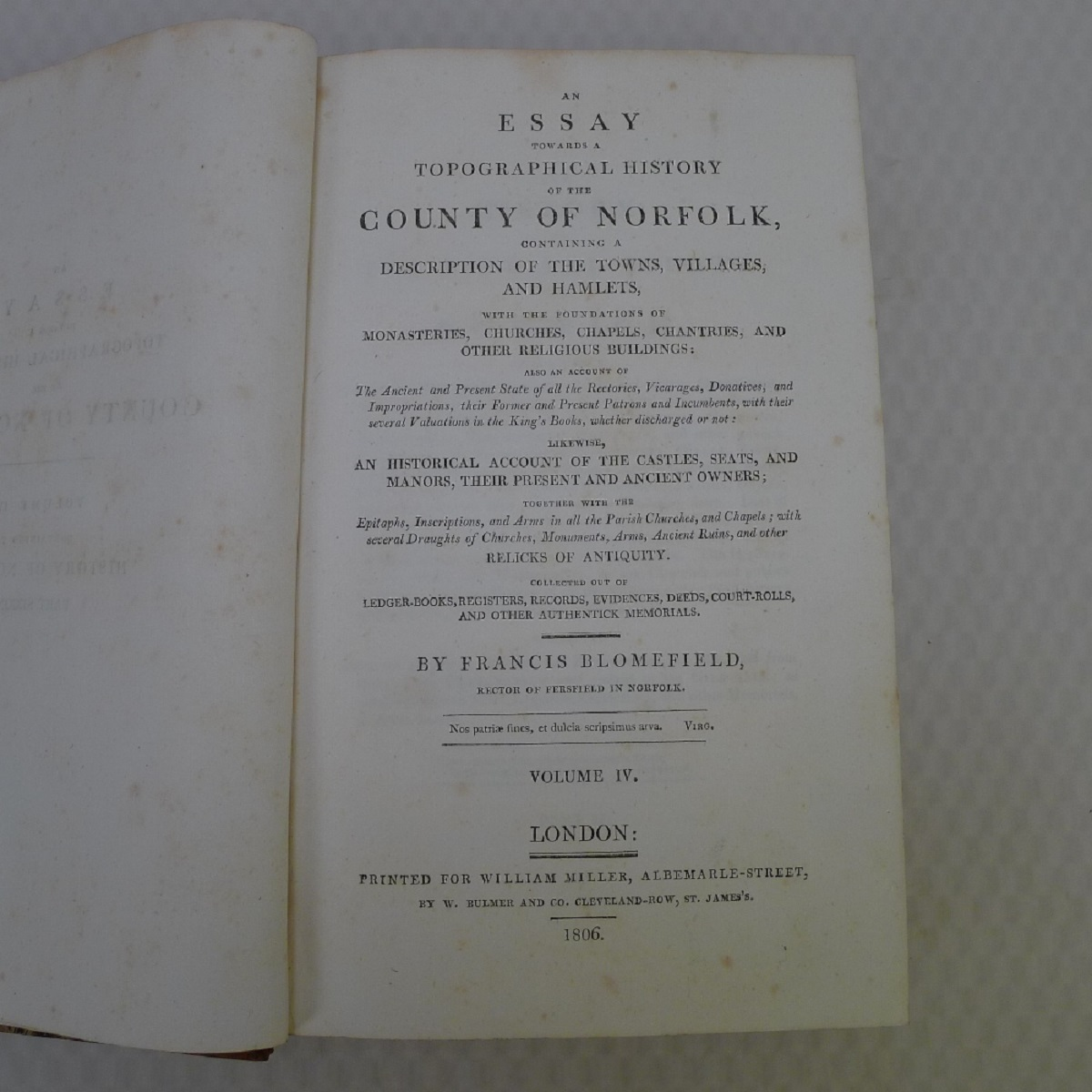 All 11 volumes of An Essay Towards the Topographical History of the County of Norfolk by Thomas - Image 13 of 23