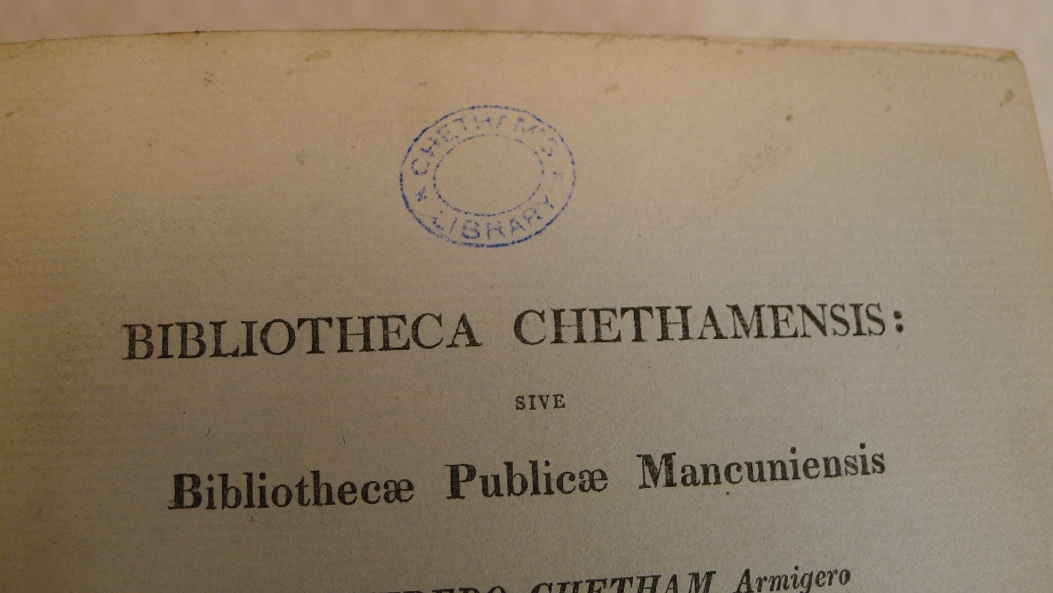 Volumes 1, 2, 3 and 6 of Bibliotheca Chethamensis (Catalogues of Books and Manuscripts) for the - Image 15 of 19