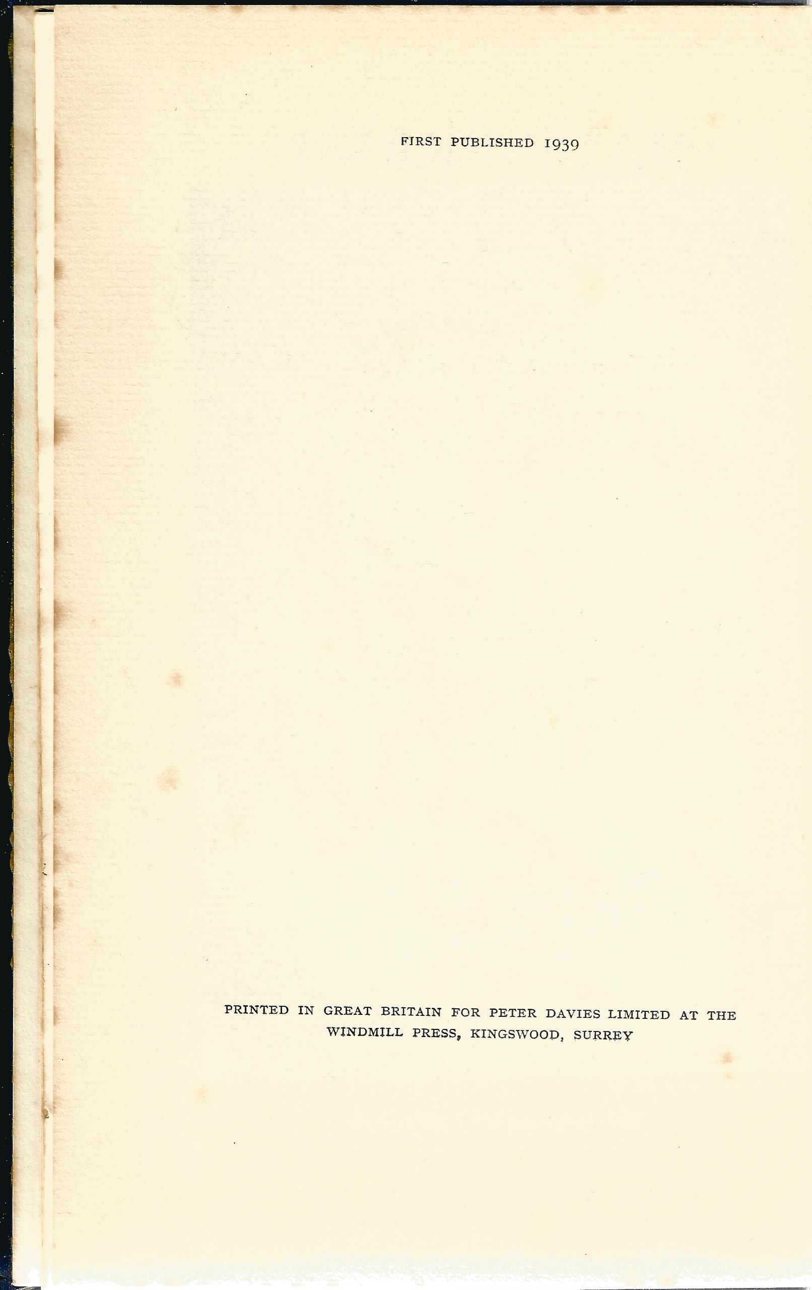 2 Hardback Books Half Breed by Lovat Dickson 1939 Grey Owl and the Beaver by Harper Cory 1935 - Image 3 of 7