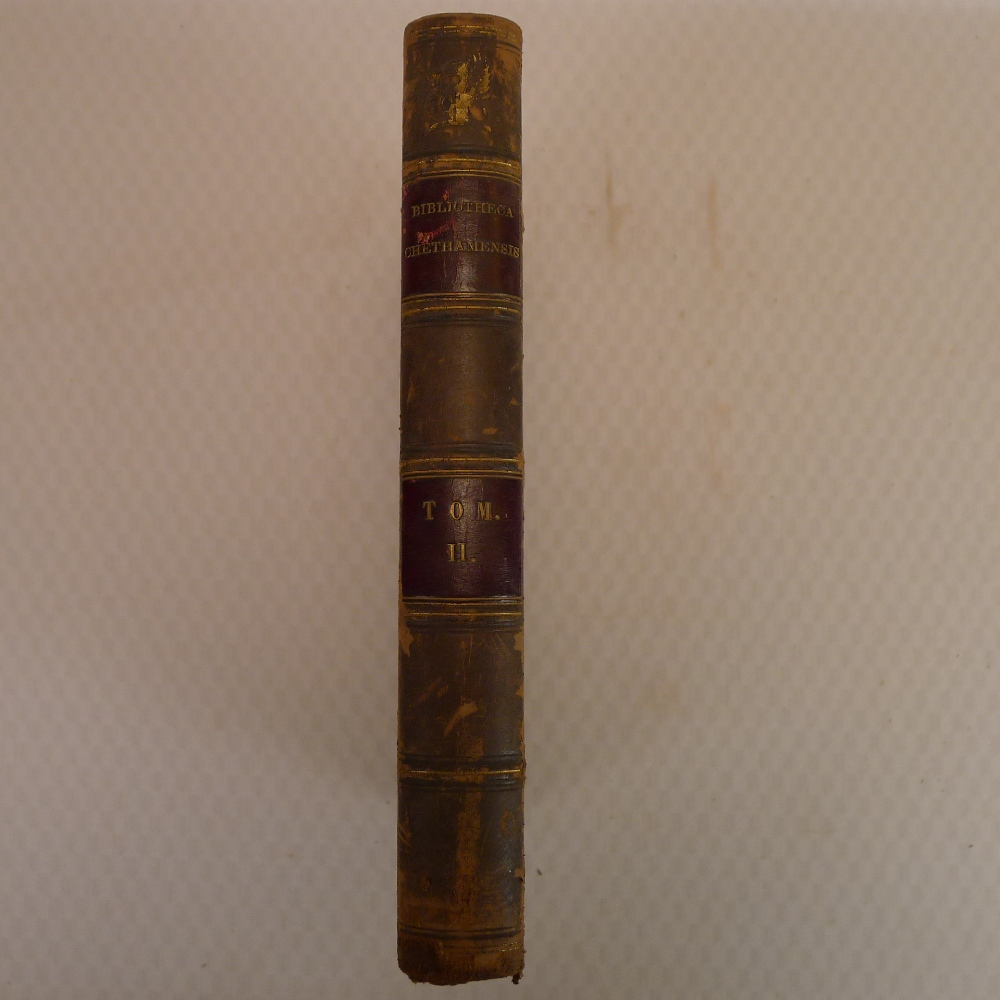 Volumes 1, 2, 3 and 6 of Bibliotheca Chethamensis (Catalogues of Books and Manuscripts) for the - Image 7 of 19