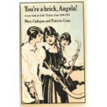 Mary Cadogan & Patricia Craig Hardback Book You're a brick Angela! a new look at Girl's Fiction from